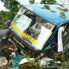 Bus crash in South kills two