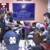 Filipino theft gang busted at Don Mueang airport trying to flee with stolen diamond necklace
