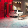 Customer drives straight into Bangkok department store through the window