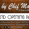 Grand Opening Party at MP by Chef Mattias in Maenam