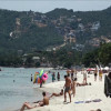 Samui beach operators – if you get rid of foreign child beggars charge them with taking Thai jobs