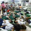 Looks like a war zone – but it was just the school dinner! 100 Kanchanaburi school kids get food poisoning