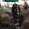 Police/military raid sheesha dens in Sukhumvit last night