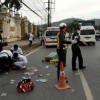 Russian killed as motorbike, Phuket taxi collide