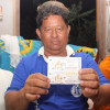 Now there's a turnaround in luck! Flooded out Surat man wins the lottery!