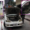 Jealuous Thai husband sets fire to his wife on Sukhumvit Soi 22