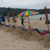 Navy orders Patong Beach sun lounges to be removed