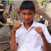 Orphaned teen boxer receives 70k baht donation, with help of English teacher and Facebook