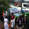One dead many injured as school tour bus overturns in Surat