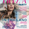 IBIZA PARTY ON KOH SAMUI 14th Feb. Chateaux Dale / Combo Beach Club Hotel – Chaweng Beach
