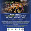 The Koh Samui THA Midnight Run 2017 is confirmed and will depart & finish from the Reggae Pub in Chaweng Beach on Saturday March 25th 2017 !!!