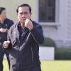 Prayuth's Workout Wednesday continues, but with stand-by ambulance