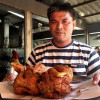 """Not sure if Colonel Sanders would agree but """"whole fried chickens"""" going down a storm in Surat"""