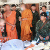 """Ya Ba brought to temple to """"make merit"""" as soldiers bust three day drugs, booze and sex party at two temples"""