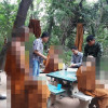 Monks defrocked after drinks party in the woods