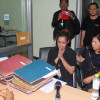 Thai/British actress and cop killer sobs as 20,000 baht bail posted