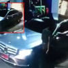 """Policeman"" driving brand new Mercedes-Benz flees without paying for his gas"