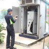 Thieves cut open Udon ATM and make off with at least 2 million baht.