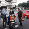 Dozens Of Illegal Motorbike Riders Arrested At BTS Mo Chit