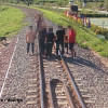 Tourists warned not to stand on rail track to take pictures