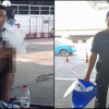 Excuse me sir….what is that you might be smoking? man caught smoking massive bong at the airport