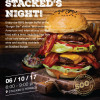 Mark your date for Stacked's Night! 6th October 2017