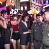"""Which witch do you fancy boss?"" – Special Branch chief makes Soi Cowboy Halloween visit"