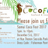 Enjoy seafood and Jazz at Samui Coco Fest 2017 – postponed by one day