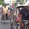 Chiang Mai's rickshaws last of a dying breed