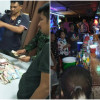 Cops use Article 44 to bust New Year's magic mushroom and laughing gas party on Koh Pangan