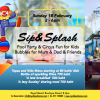 Don't miss the fabulous Sip and Splash party tomorrow (Sunday) at Royal Beach