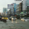Floods cause morning peak-hour traffic delays