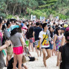 Tourist arrivals on the rise