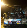 20 registered Myanmar migrants burned to death on bus in Tak