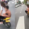 Fined! Boy's relative nabbed after naked – and helmet-less – jaunt round Hat Yai