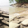 Forces of nature threaten Krabi's fossils on Andaman coast, battle being lost