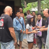 Samui cops arrest building contractor for stealing kitchenware from Frenchman/Thai wife