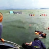 Tourists have brush with death as boat capsizes off Chumpon