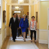 May presses PM on free and open elections