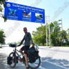 Thai mini vans are the most dangerous thing, says Dutch cyclist who rode to see his dad in Thailand