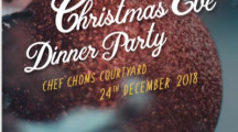 Tongsai Bay Christmas Eve Dinner Party @ Chef Choms Courtyard 24th December 2018