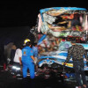 Tour bus driver loses head, 34 injured, family in lucky escape in horror smash