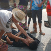 Praise for Aussie doctor helping out at accident in Tak