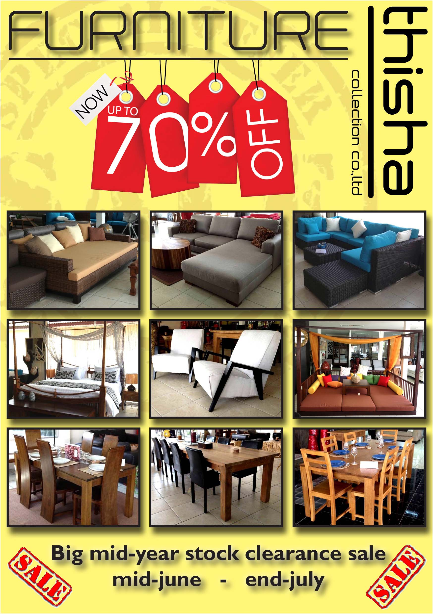 Big Mid Year Sale at Thisha | Samui Times