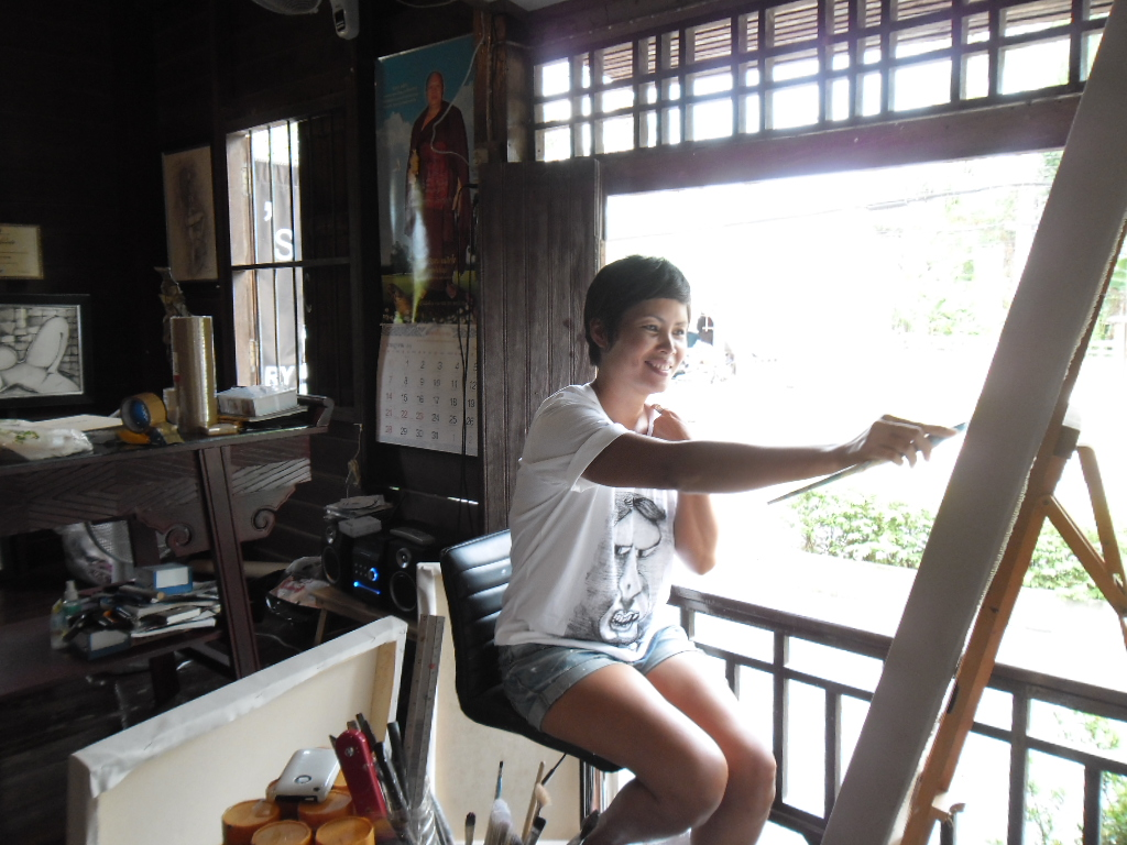 An incredibly talented lady called Ta | Samui Times