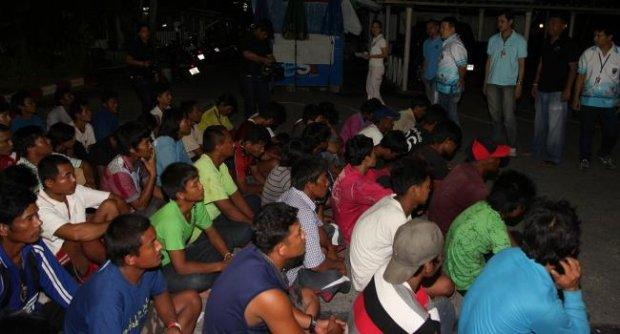 69 illegal Burmese workers arrested in Phuket | Samui Times