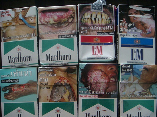 Philip Morris win temporary victory in its fight to keep larger health warnings of cigarette packets in Thailand | Samui Times