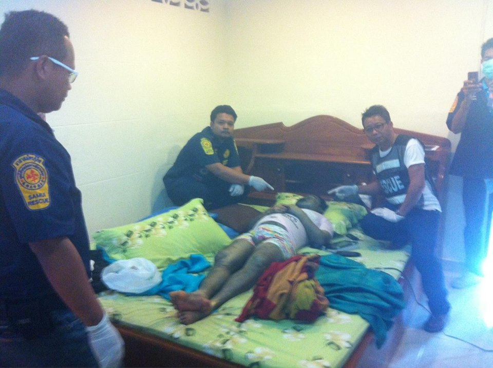Man dies mysteriously in a rented room | Samui Times