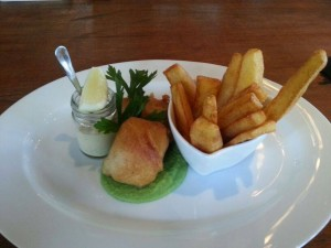 fish and chips the larder