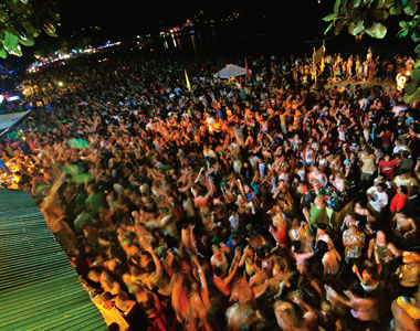 Image result for Full Moon Party - Haad Rin Beach, Koh Phangan, Thailand